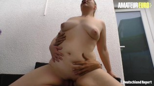 DeutschlandReport - Big Tits Fat German Slut Seduced And Fucked By Horny Stranger