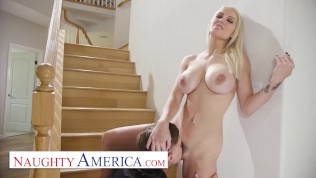 Naughty America - Kenzie Taylor is all alone in her house while a burglar is breaking in