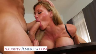 Naughty America - Casca Akashova is the perfect MILF sex doll
