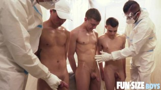 Young scouts ass drilled by wild daddies