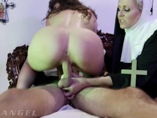 Priest Fucks The Demon Out Of Possessed Nun – EvilAngel