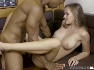 Private Black – Sexy Stacked Blonde Girl Stacy Cruz Fucks BBC In Her Yacht!