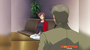 Hentai Pros – Redhead Milf Sucks 3 Guys & Gets Her Pussy Licked & Fucked To Repay Kagami's Money
