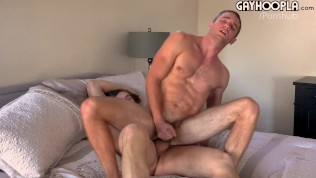 Surfer Teen Gives Logan A Giant Load All Over His Face