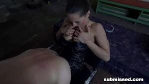 Dominant Barbara Fucking her Toy Boy